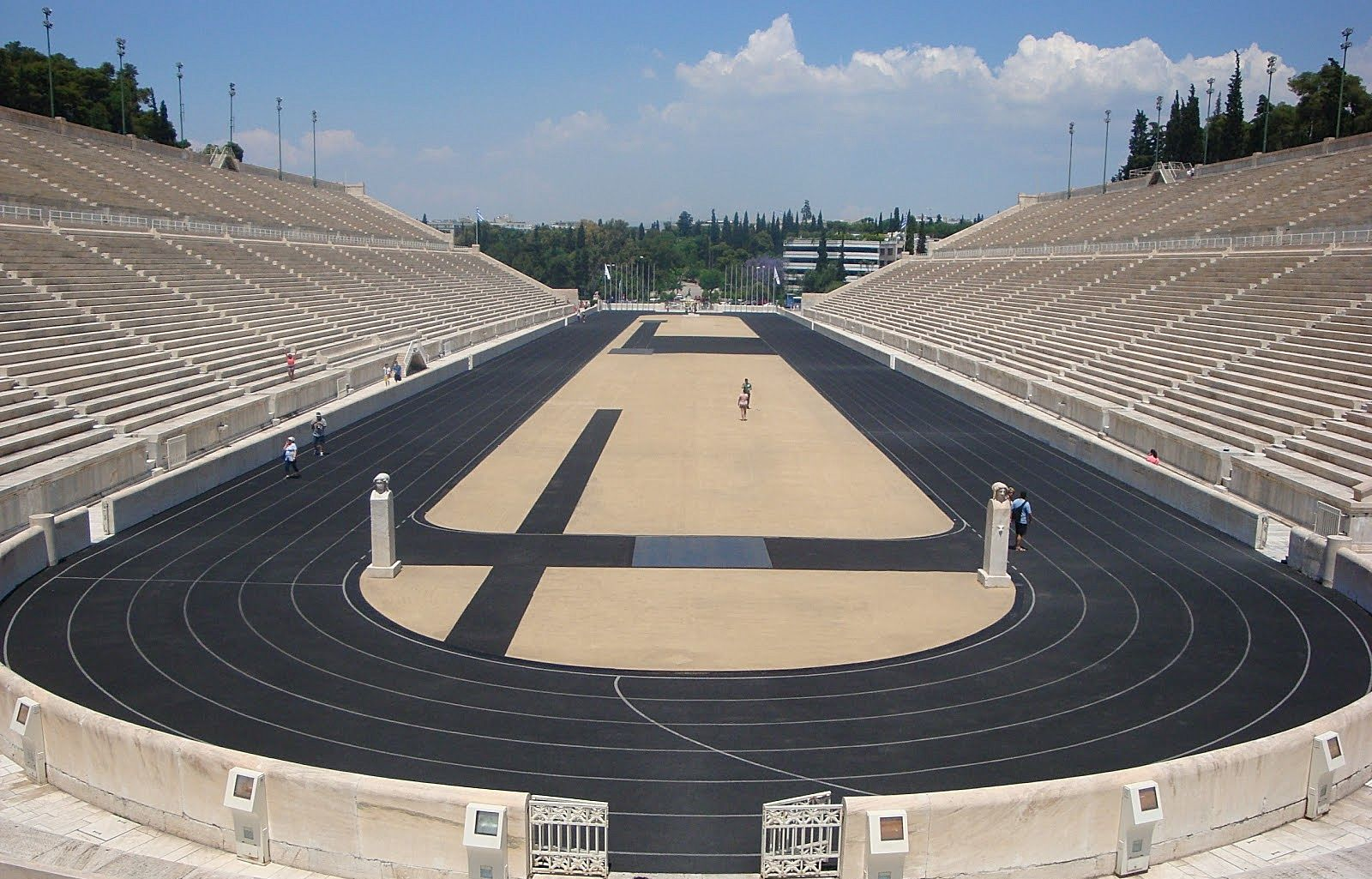 El Estadio Panathinaiko Esta Construido Enteramente De Marmol Y Como